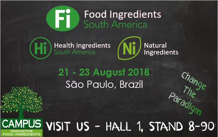 Campus@FI South America 2018 Hall 1 Stand 8-90 - SAVE THE DATE